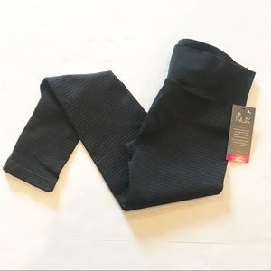 NWT NUX High Compression Striped Leggings